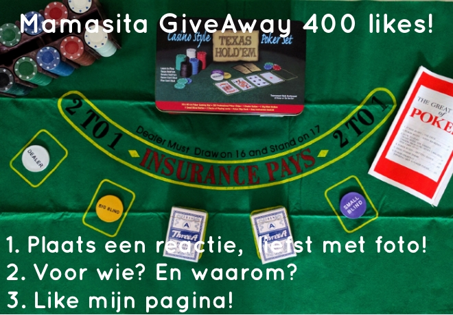 Mamasita GiveAway 400 likes!