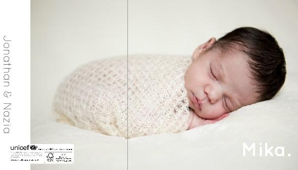 Geboortekaartje Mika